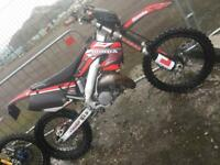 HONDA CR 125 ROAD LEGAL 2001/2002 not kx rm ktm yz