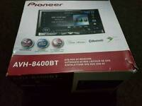 Pioneer AVH-8400BT Double Din Remote Control Bluetooth DVD