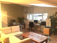 Desk space in Creative Community (SW4 Clapham)