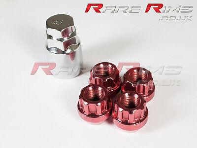 Petrol Locking Nuts x 4 12x1.5 Fits Honda Insight Logo CRV CRZ HRV