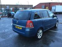 Vauxhall Zafira 2008 diesel for service manual 2 L low mileage