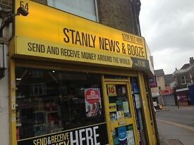 Off-licence shop for sale