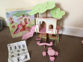 ELC rosebud tree house