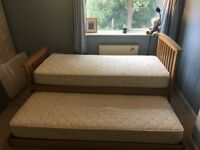 Oak Guestbed - Single (New England Relyon - RRP £800)