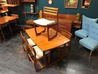 Dining Table & 4 Chairs by Portwood Furniture