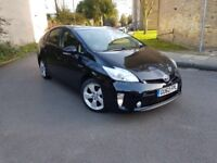 TOYOTA PRIUS NEW SHAPE VERY CLEAN CAR LEATHER INTERIOR CAMERA BLUTOOTH UK MODEL PCO ELIGIBLE EURO 5