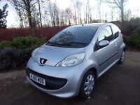 Peugeot 107 1.0 urban low tax £20 per year 73000 fsh