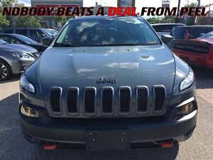 2015 Jeep Cherokee Trailhawk**NAV**PANORAMIC ROOF**LEATHER**