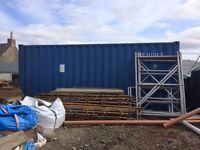 Used 20ft shipping container, good condition and water tight.
