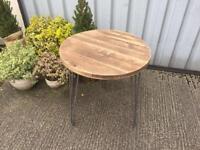 Lovely wooden garden /patio table