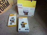 Computer Kodak Easy Share photo printer and accessories photo paper