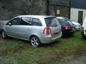 BREAKING 2 VAUXHALL ZAFIRAS AND VECTRA C 1.9 SRI CDTI 150 AND A 1.6 16V