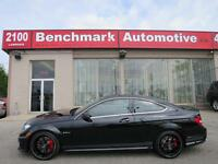 2014 Mercedes-Benz C63 COUPE-EDITION 507-CLEAN CARPROOF-ONTARIO  City of Toronto Toronto (GTA) Preview