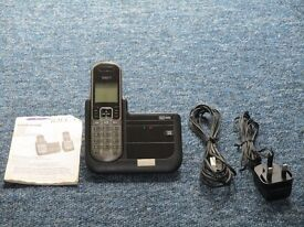 cordless phone with answering machine manal included g.w.order need space