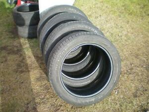 4 Dunlop SP Sport 7000 A/S Tires * P235 50R19 99V * $80.00 for 4 .  M+S / All Season Tires ( used tires )