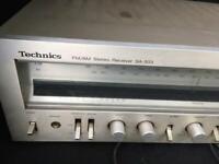 Vintage technics amp + speakers needs attention