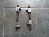 1 Pair of Spring / Coil Clamps