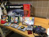 Nintendo 64 bundle swap for Fitbit smart watch or iPhone 5c/5s preferably unlocked?