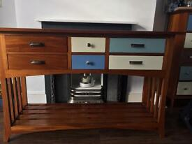 Beautiful Side Unit with six drawers