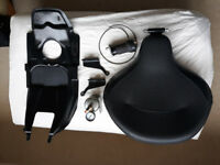 Harley Davidson Touring model 1997 -2007 police air ride seat assembly complete