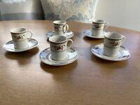 Royal Doulton espresso cups