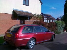 Rover 75 Estate MOT July 2018 Towing gear Colour red. Turbo diesel.