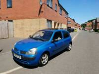 RENAULT CLIO 1.5 DCI DIESEL £20 ROAD TAX VERY CHEAP TO RUN NEW CLUTCH FITTED