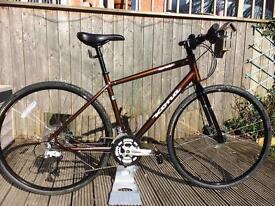 Kona Dew Deluxe Hybrid bike, As New