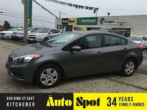 2014 Kia Forte LX/ WE FINANCE !/PRICED FOR A QUICK SALE!! Kitchener / Waterloo Kitchener Area image 1