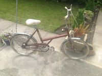 LADIES BSA TOWN BIKE CLEAN CONDITION WOULD BE AN IDEAL BIKE FOR STUDENT