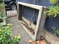 Raised bed for garden or allotment
