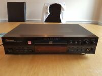 PIONEER PDR-609 CD RECORDER, WITH REMOTE & INTERCONNECTS