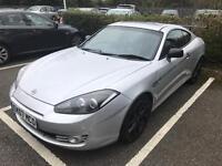 Hyundai coupe Siii 2007. Mot. Tax. Leather Alloys