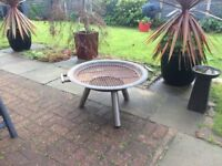 Solid Steel Fire Pit/Bowl