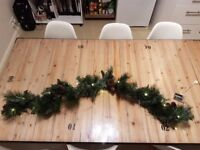Pre-lit Christmas Garland Decoration 1.2m