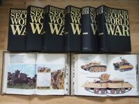 HISTORY OF WWII - PURNELLS - complete set