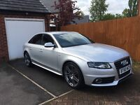 2011 Audi A4 S Line Special Edition 2.0 TDI Bang & Olufsen Silver