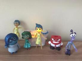 Disney Inside out figures