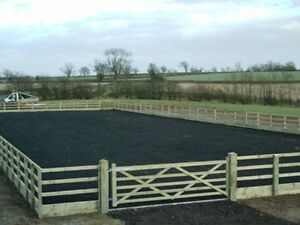 Rubber Surface for Arena / Horse Ménage