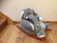 Childrens Elephant Rocking Chair