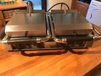 Double Ceramic Roller Grill