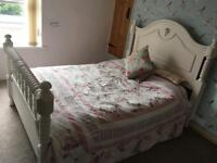 Double bed complete with matress