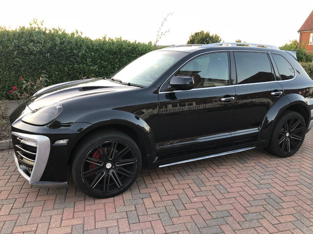 porsche cayenne s 4 8 v8 gt 550 bodykit swap p x in victoria london gumtree. Black Bedroom Furniture Sets. Home Design Ideas