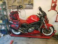 Cagiva v raptor tl1000 swap for Hayabusa