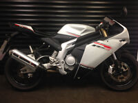 Rieju RS3 125 LC Pro 125cc Supersport Motorcycle with Yamaha YZF R125 Engine - 2013 reg low miles