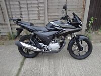 2011 black Honda CBF125, recently serviced, 1 year MoT, good condition