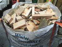 1 TON BAGS OF FIRE WOOD