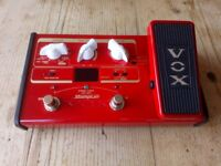 Vox stomplab 2b multi effects pedal