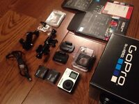 Mint Condition GoPro Hero 4 Black with accessories and Extra Battery
