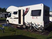6 berth Motorhome Hire Glasgow